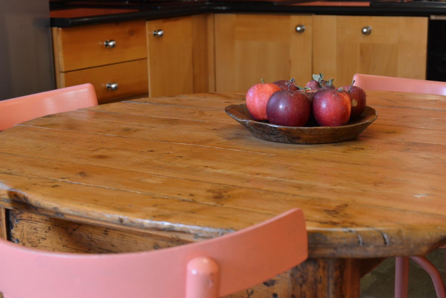 Casa Tzen tavolo Angoli di Paradiso Cogne